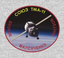 Russian Mission Patch- Soyuz TMA 11 by cadellin