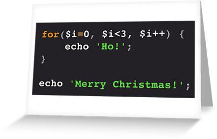 PHP Ho! Ho! Ho! Merry Christmas! by Marcus Lywood