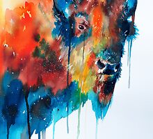 Bison by Slaveika Aladjova