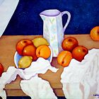 Still life in honor of Cezanne by Madalena Lobao-Tello