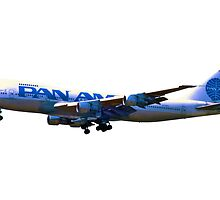 Pan Am Boeing 747-200 by boogeyman