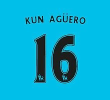 Aguero Style Man City Vector Kit by Aaron Pacey