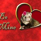 Be Mine Ferret by jkartlife