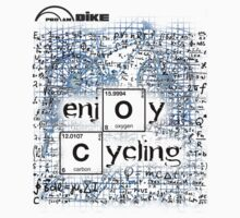 Cycling T Shirt - Enjoy Cycling by ProAmBike