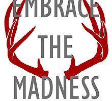 Embrace the madness by woodian