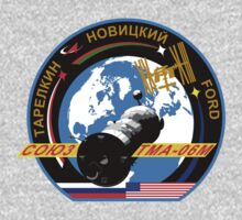 Russian Mission Patch- Soyuz TMA 06 M by cadellin