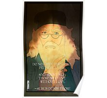 Dumbledore. Harry Potter, Azkaban, Goblet of fire, Quote, Wise, Wiseman, Wisdom, Rowling, Wizard, Hogwarts Poster