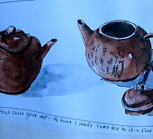the tiny teapot by Evelyn Bach