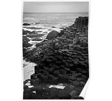 Giant's Causeway Northern Ireland Poster