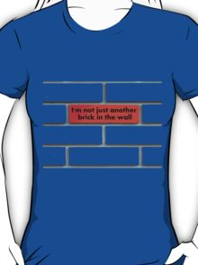 Just another brick (red) T-Shirt