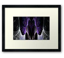 Amethyst Cavern Framed Print