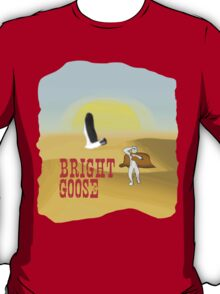 Bright Goose: Space Western T-Shirt