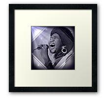 Aretha Franklin  Framed Print