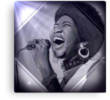 Aretha Franklin  Canvas Print