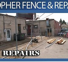 Fence Repair - www.gopherfence.com by gopherfence002