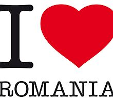 I ♥ ROMANIA by eyesblau