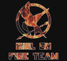 Hunger Games Girl on Fire Team Black by Alessandro Tamagni