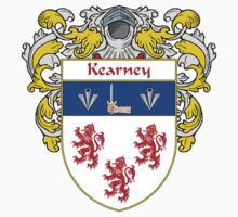 Kearney Coat of Arms/Family Crest by William Martin