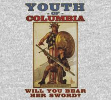 Youth of Columbia by nonsoloart
