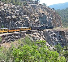 Narrow Gauge RR, Colorado by Ralphtaranto