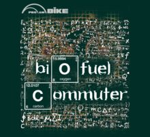 Cycling T Shirt - Biofuel Commuter by ProAmBike