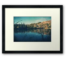 Passing the Day Away  Framed Print