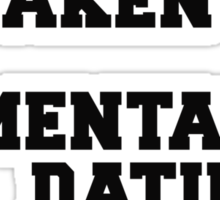 Single Taken Jennifer Lawrence Sticker