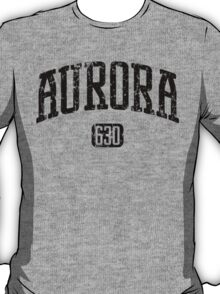 Aurora 630 (Black Print) T-Shirt