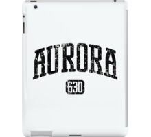 Aurora 630 (Black Print) iPad Case/Skin