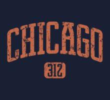 Chicago 312 (Orange Print) by smashtransit