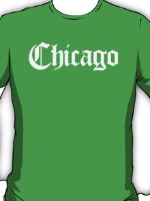 Chicago Gothic (White Print) T-Shirt
