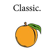 Simple. Classic. Peach. by mwfarmer