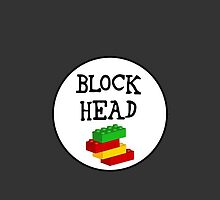 BLOCK HEAD by Chillee Wilson from Customize My Minifig by ChilleeW