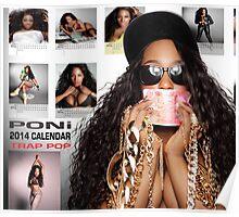 Poni 2014 Calendar Back Cover Poster