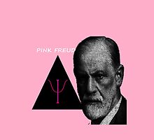 Pink Freud theme - perfect gift for psychologists! by ineedaplane