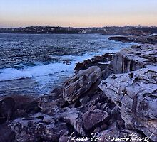 Sunrise over Clovelly Beach 11.12.13 by James Toh