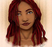 Red Beauty by Shakira Rivers