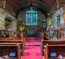 Church at Christmas v4 by Ian Mitchell