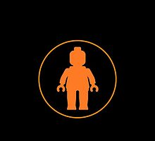 MINIFIG ORANGE by Chillee Wilson from Customize My Minifig by ChilleeW