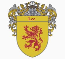Lee Coat of Arms/Family Crest by William Martin