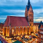 Christmas Market in Hannover by Michael Abid