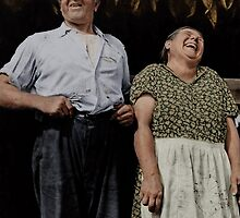 Farmer & Wife, Connecticut by PhotoRetrofit