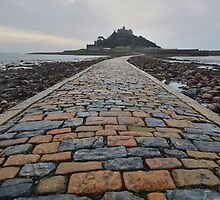 Cornwall: Causeway to the Mount by Rob Parsons
