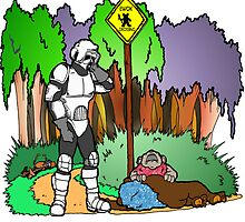 Ewok Crossing by Skree