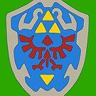 Hylian Shield by James Anthony