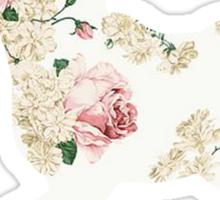 Floral Unicorn 2 Sticker