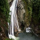 Lower Twin Falls - Snoqualmie N.F. by Mark Heller