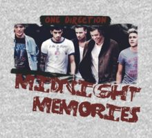 One Direction Midnight Memories by sdunaway