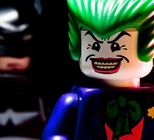 LEGO Joker and Batman by jarodface
