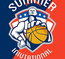 Amateur Summer Invitational Basketball Poster by patrimonio